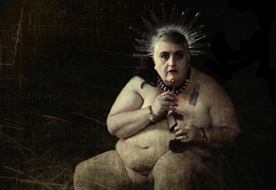 Erika Bulle-Mario Patino-Arte-de-en-Accion-Performance-art-gordofobia-mexico-4